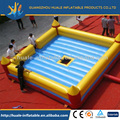 Fun Automatic and manual switch bull fighting game base/best sale inflatable bullfighting arena