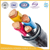 Low Voltage NYY / VV / NAYY / VLV 8mm PVC / XLPE insulated power cables for transmission and distribution of electric power