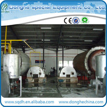 oil scrap tire recycling 6-20t/d waste rubber pyrolysis machine waste rubber recycling with ISO&CE