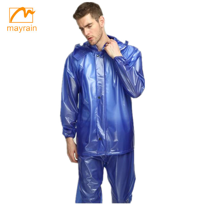 PVC Rainsuit Raincoat Waterproof Rainsuit