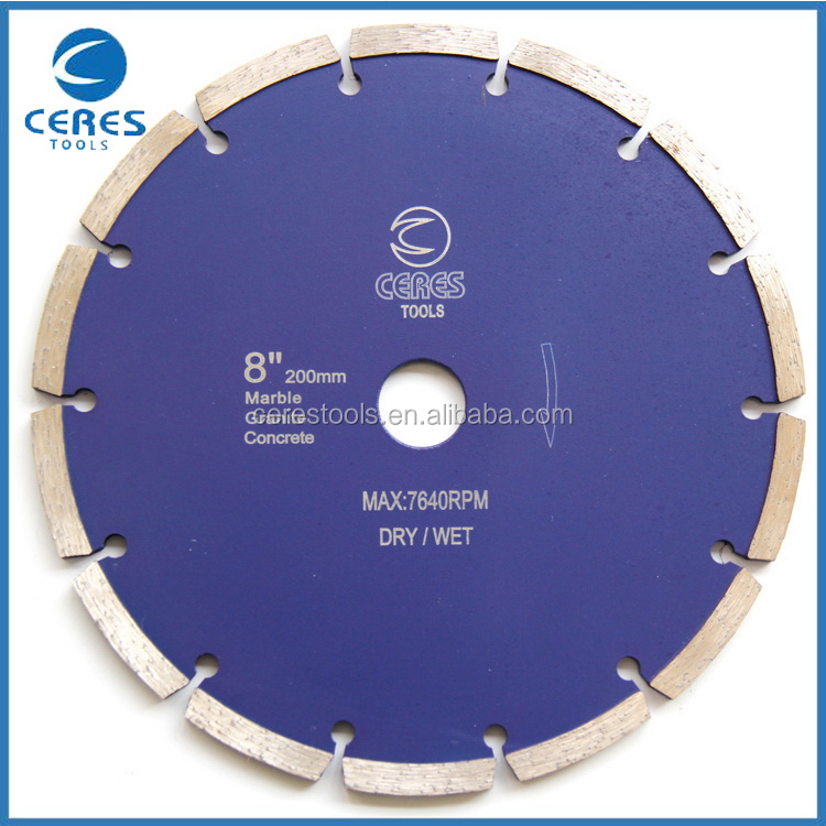 Cost price fast delivery diamond cutting disc for concrete