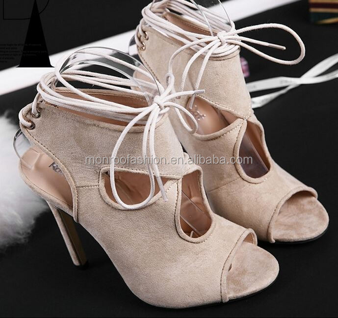 Monroo europe style new design women high heel peep-toe shoes ladies sexy open toe sandals