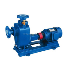 ZW Cast Iron Self-Priming Moto bombas Diesel Pump Self Priming Sewage Trailer Pump