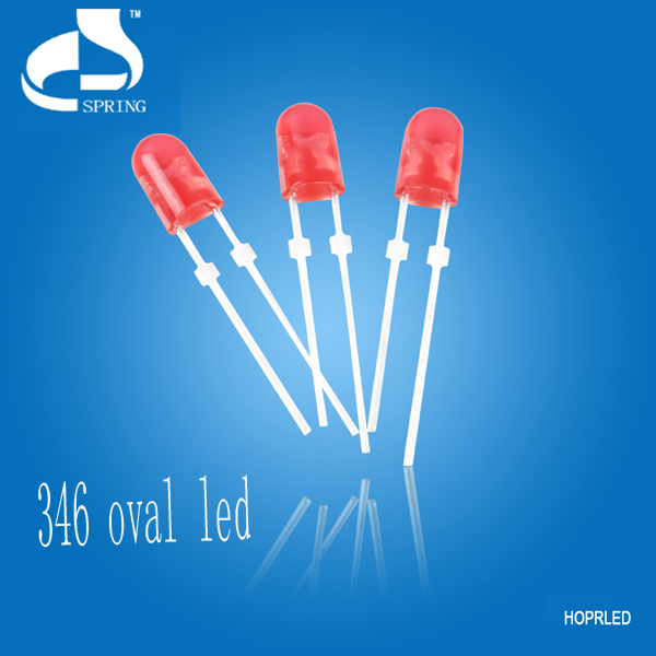 Hot selling 3mm white pre wired leds