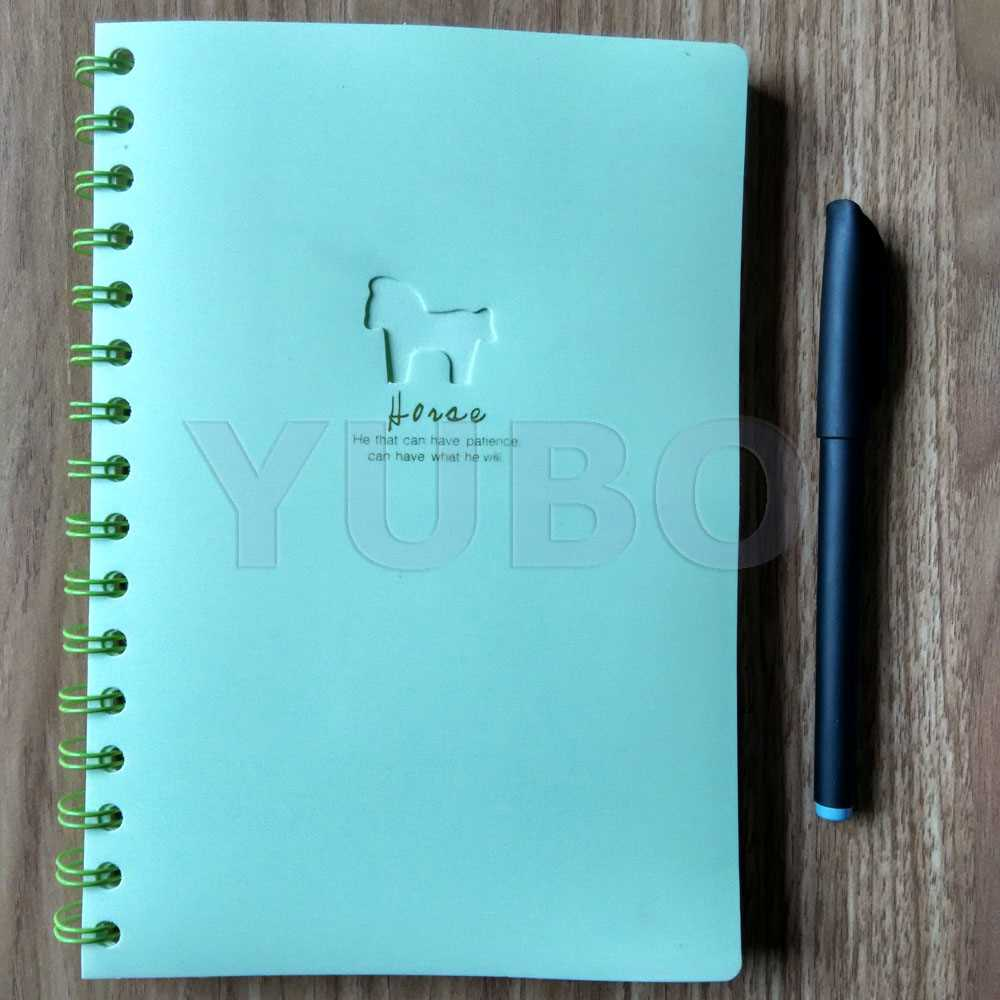 YB-2951 Plastic Spiral Notebook high quality bulk notebooks
