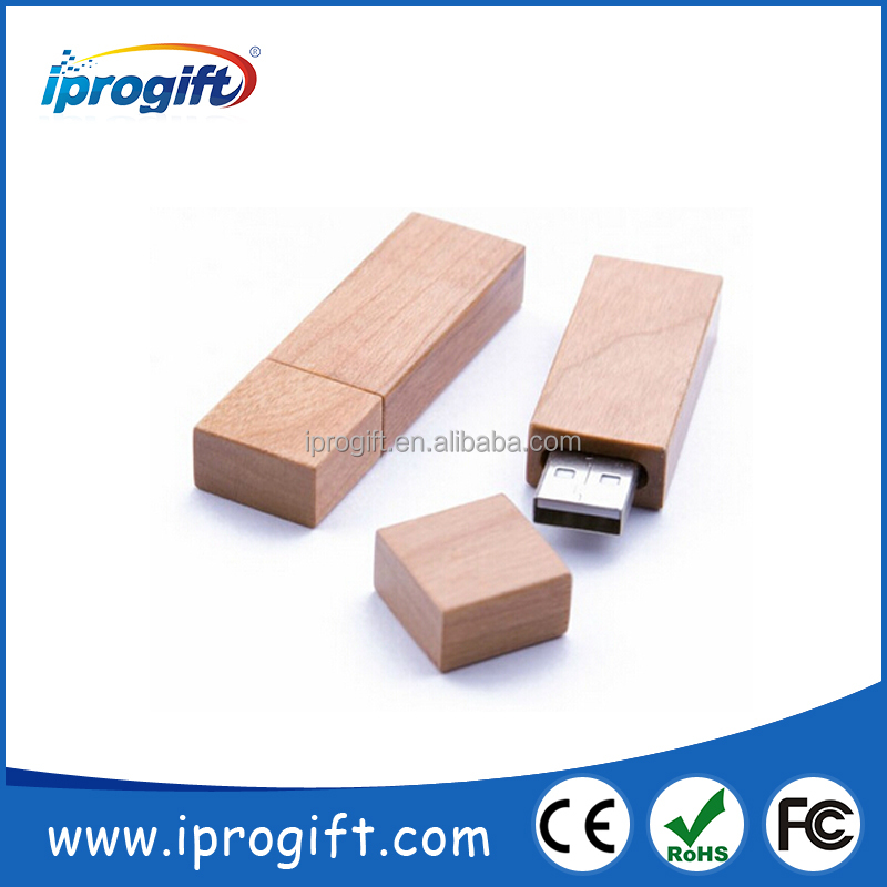 Best promotion gift 2GB 4GB 8GB 16GB Wooden USB stick