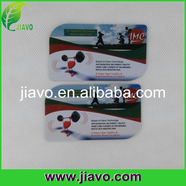 A safe type of Bio Energy Card color your life.