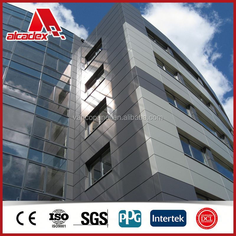 Exposed Fastener Systems Mirror ACP Panel