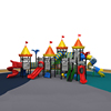 Castle Series Commercial Outdoor Playground Equipment