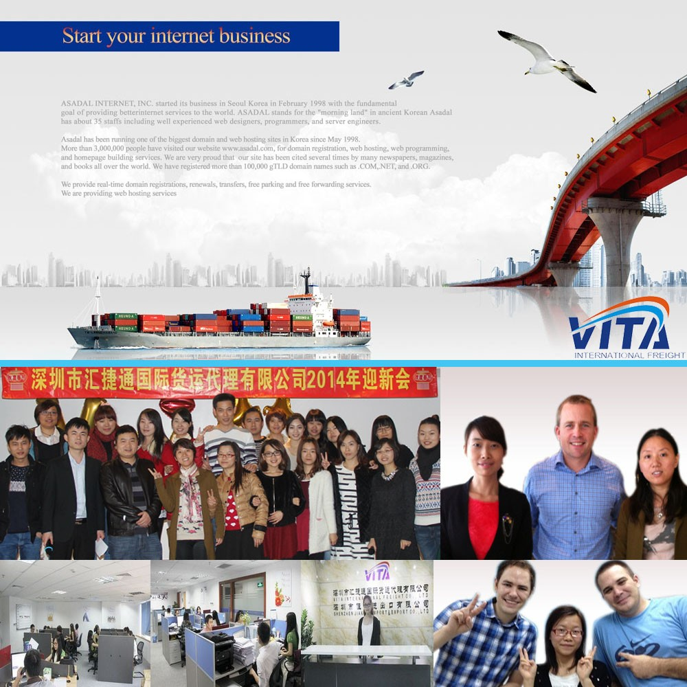 Best logistic services & freight forwarder from China to worldwide