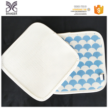 Factory produced best price polyester 3d spacer mesh fabric used for pad