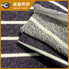 60 cotton 40 polyester yarn dye stripe Terry cloth fabric for sports wear