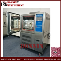 UL1703 IEC61730 Damp Heat Temperature Humidity Walk-In Test Chamber For Construction Materials