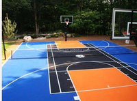 Colorful EPDM Rubber Basketball Court Floor Paint