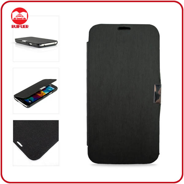 RF Factory Wholesale Luxury Book Slim Fit Magnetic Leather Galaxy S4 Case Cover More Than 100 Models Avaible