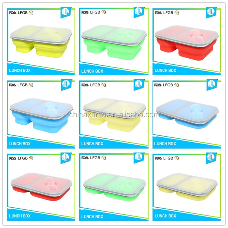 Lunch container cheap silicone freezer baby food storage