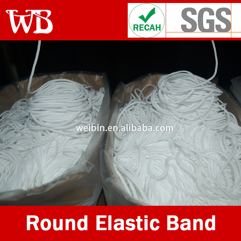 Spandex Latex-free Face Mask Earloop,Top Quality Face Mask Material