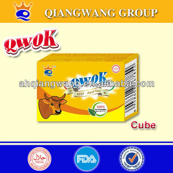 qwok series soft style beef bouillon cube