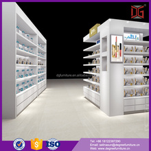 Cosmetic showroom skin care products display cabinet