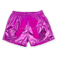 Hot Pink Polyester Sparkly Sequin Baby Bloomers Wholesale