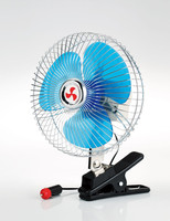 "6"" / 8"" Mini Auto Fan Semi-seal Metal Guard Oscillating Clip on Car Fan"