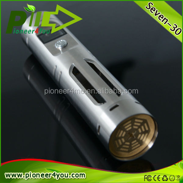 Pioneer4you most popular seven-30 mod with high vapor 30w mod on sell