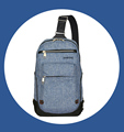 Waterproof Men Sling Chest Bag Backpack Manufacturer, Wholesale Business Casual Shoulder Corss Bag For Men