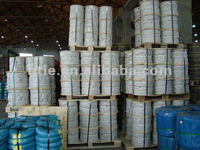 ungalvanized steel wire rope 4mm 1*19