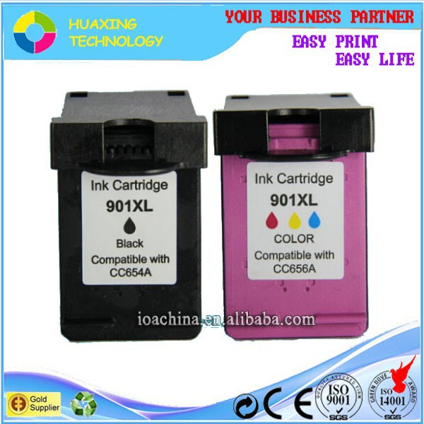 printers compatible ink cartridge for hp 901 CC653AA