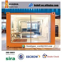 Flat pack mobile mudular container office house price for sale