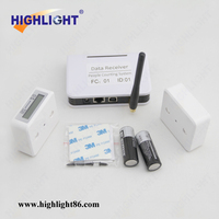 Highlight infrared people counter, electronic people counting machine, people counter with network software