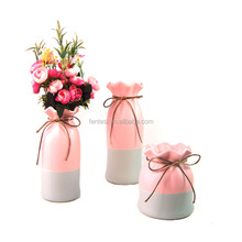 Newly Launched Antique White Ceramic Porcelain Flower Vases For Home Decor