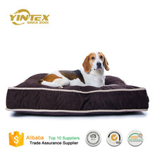 Wholesale cheap luxury pet dog bed cute dog bed pet home washable soft plush blue heated pet bed