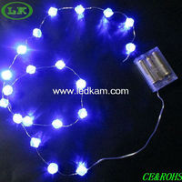 LK 2013 latest design battery operated copper wire string light