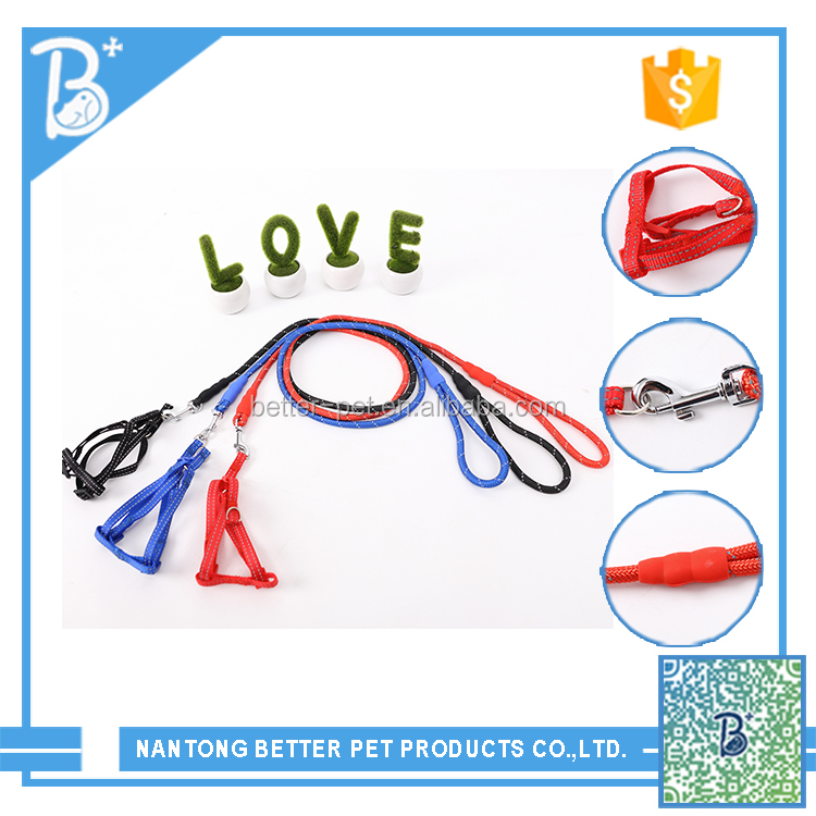 Eco-Friendly & Stocked unique design nylon dog collars wholesale pet products