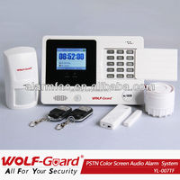 Wolf guard security and protection ! PSTN auto dial alarm System for home house security
