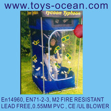 funny inflatable cash cube/inflatable money machine/inflatable products inflatable cubes