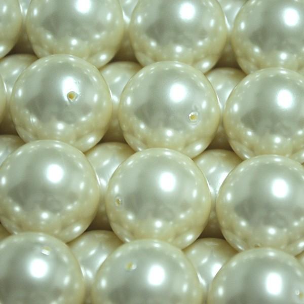 big plastic pearls full hole 2