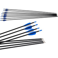 Topoint Archery CARBON mix Arrow,TPTJ-60HS,for recurve bow