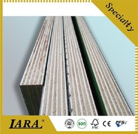 rapid wall construction building material, one time finished red film face plywood, raw material of buildings