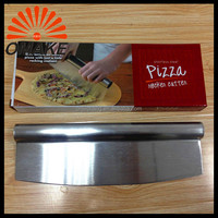 2016 High Quality and Promotional Sharpen Stainless Steel Blade Pizza Cutter, Pizza Knife