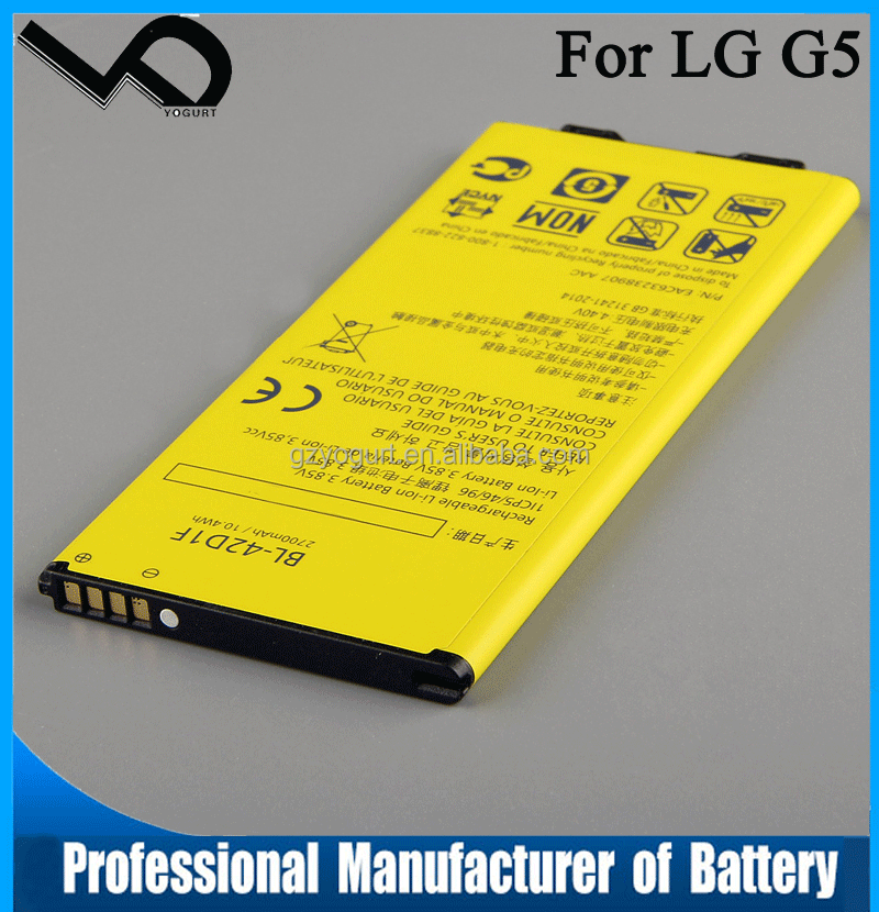 2017 New Cell Phone Replacement Battery BL-42D1F For LG G5 H860 H868 Mobile Phone Batteries BL42D1F 2700mAh