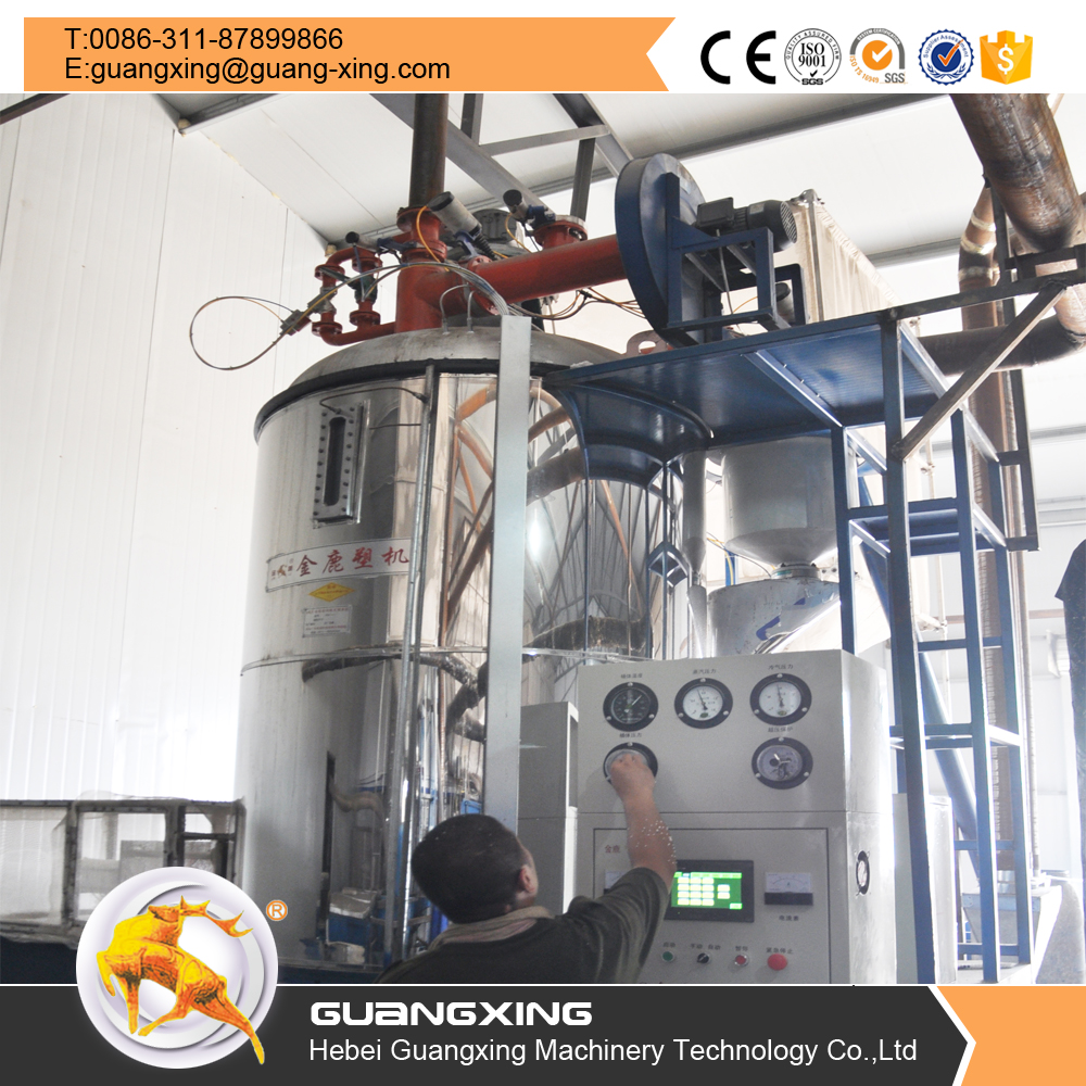 EPS Foam Light Balls Making Machine For Low Density Polystyrene