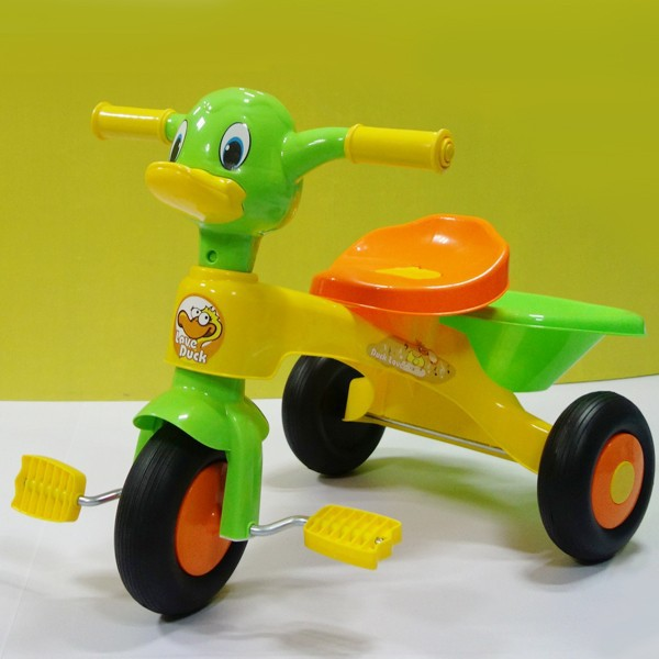 rickshaw tricycle duck child toy tricycle