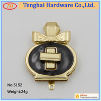 Wholesale handbag hardware fashion bag lock , bag accessories ,twist lock