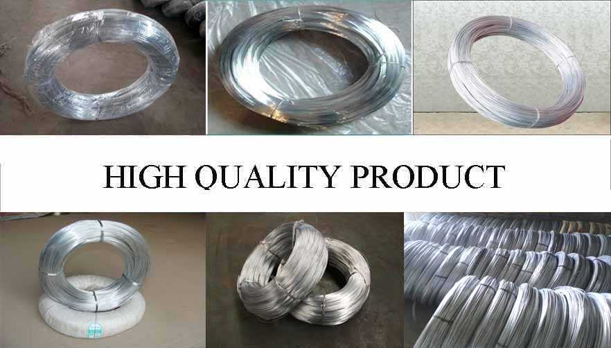 High quality! galvanized steel wire factory price made in China