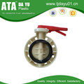 2016 NEW top sale factory low price high temperature PP/FRPP polypropylene butterfly valve