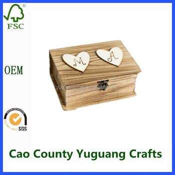 2017 hot sale solid pine wooden boxes wholesale