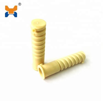 SDU9 HDPE Plastic Screw sleeve And Rubber Part Used In W14 Railway Fastening System