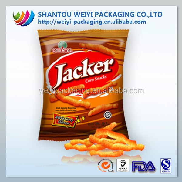 food plastic packaging roll film for candy/chocolate /chips